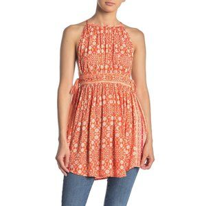 Free People NWT Midsummer's Day Tunic Tank Top